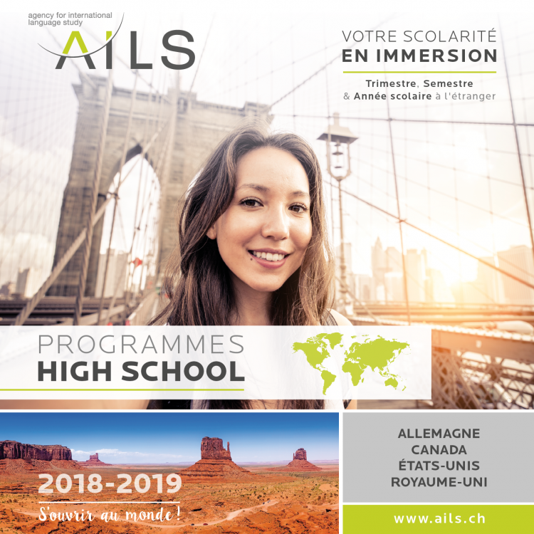 Brochure AILS High School - 2018