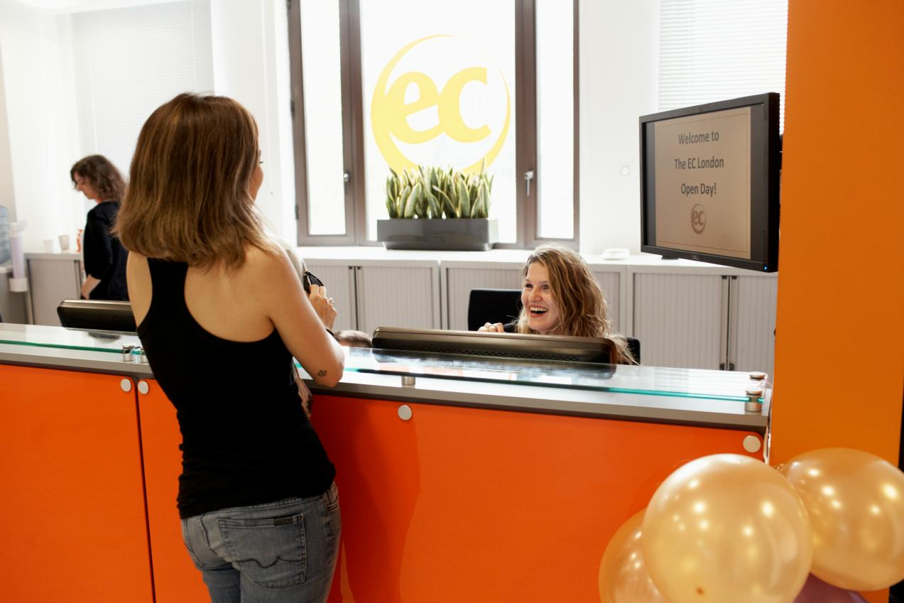 reception EC english London
