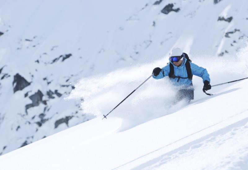 Skieur à Whistler - Canada